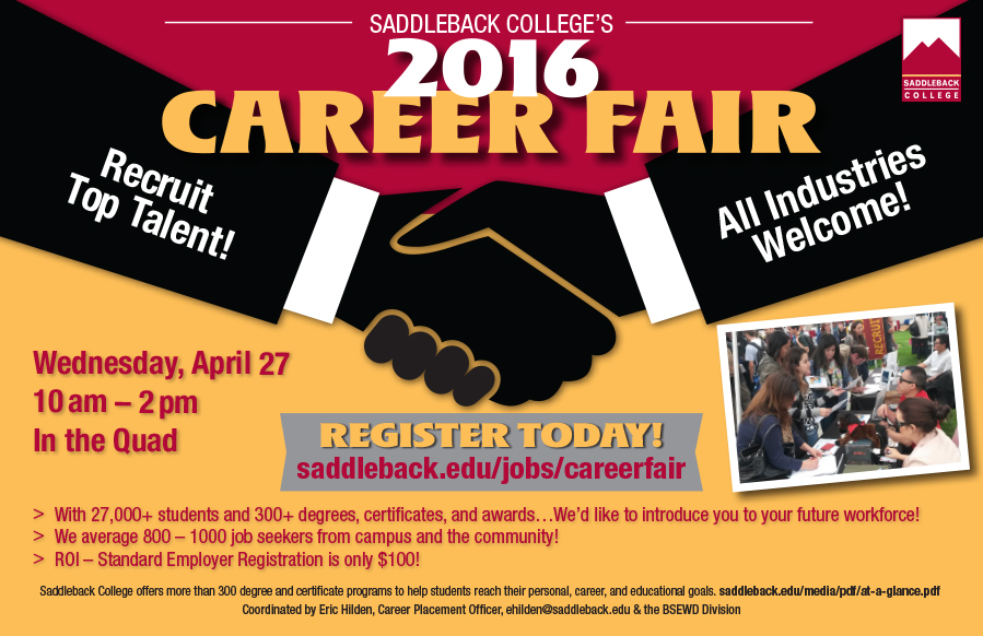 Career Fair 2016 Rev